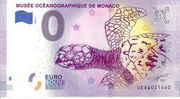 BS-05 - MONACO - Musée Océanographique De Monaco (tortue) 2020-3 - EURO