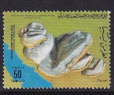 Libya 1985, Mushrooms, Minr 1556 Used - Libye