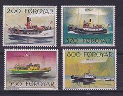 Faroe Islands 1992, Ships Complete Set, MNH. Cv 5,50 Euro - Faroe Islands