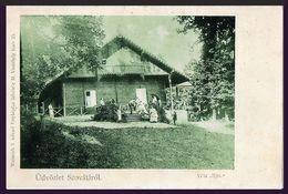 RAR Siebenbürgen Erdely Sovata - Szovata Villa Iljes Um 1900! - Romania