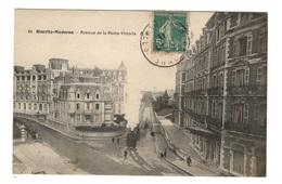 64 PYRENEES ATLANTIQUES - BIARRITZ Moderne, Avenue De La Reine Victoria, Tramway - Biarritz