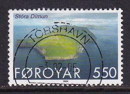 Faroe Islands 2004, Minr 483 Vfu - Isole Faroer