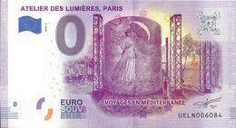 BS-09 - PARIS - Atelier Des Lumières (voyages En Méditerrannée) 2020-3 - EURO