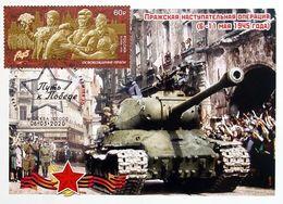 2633 Path To Victory Prague Offensive Operation 2020 Maximum Cards - 1992-.... Fédération