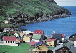 Iles Feroe Tjornuvik A Streymoynni Streymoy + Timbre Foroyar CPM - Féroé (Iles)