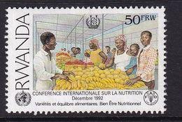 Rwanda 1992, Minr B1453 Used. Cv 2,50 Euro - Rwanda
