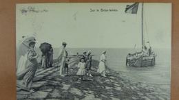 Heyst S/Mer Sur Le Brise-lames - Heist