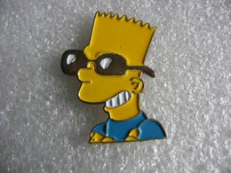 Pin's Portrait De Bart SIMPSON Souriant - Cómics