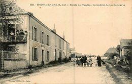 Nort Sur Erdre * Route De Nantes , Carrefour De La Pancarte - Nort Sur Erdre