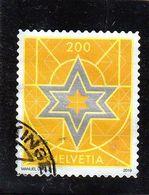 SUISSE     2019  Y.T.  N° Noël  Oblitéré - Used Stamps
