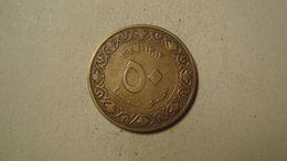 MONNAIE ALGERIE 50 CENTIMES 1964 / 1383 ( Drapeaux ) - Algeria