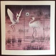 Grenada Grenadines 1978 WWF Birds Minisheet MNH - Birds
