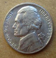 1985 P - STATI UNITI  USA Five Cent - Jefferson - Circolata - Federal Issues
