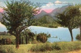 Dept 74,Haute Savoie,Cpsm Lac D'Annecy,Talloires Et Duingt - Talloires