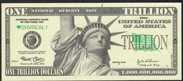 U.S.A. FANTASY NOTE NLP 1 TRILLION  DOLLARS Serie  2006 UNC. - USA