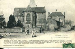 N°1536 R -cpa Tournes -église-  -canton De Renwez- - Altri Comuni