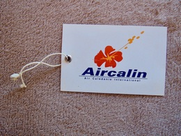 Etiquette Compagnie Aérienne AIRCALIN - Baggage Labels & Tags