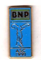 Pin's  Banque ASC BNP 1991 Zamac Fraisse - Banques