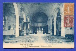 CPA FRANCE 79  ~  CHEF-BOUTONNE  ~  Intérieur De L'Église  ( Thiriat & Basuyau 1928 ) - Chef Boutonne