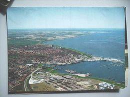 Nederland Holland Pays Bas Delfzijl Panorama Van Haven En Stad Lees. - Delfzijl