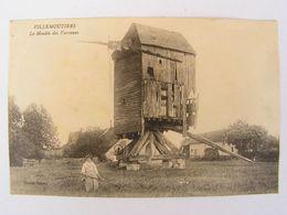 CPA LOIRET VILLEMOUTIERS LE MOULIN DES VARENNES 864 - Autres Communes