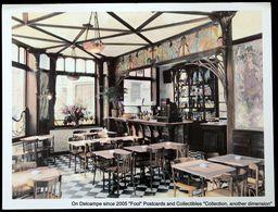 BRUSSEL BRUXELLES Restaurant Bar LE PERROQUET Décor ART NOUVEAU Rue Watteeu Grand-Sablon BRUSSELS - Cafés, Hôtels, Restaurants