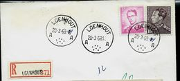Doc. De LOENHOUT - A A - Du 20/03/69 En Rec. - Marcophilie