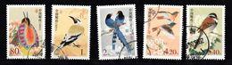 China 2002 Mi Nr  3322 - 3326 , Vogels, Bird - 1949 - ... République Populaire