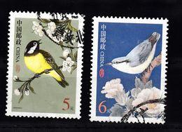 China 2004 Mi Nr 3508 + 3509  , Vogels, Bird - 1949 - ... République Populaire