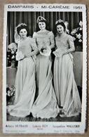 Carte Postale DAMPARIS ( 39 JURA ) Mi-Carème 1951 - Les Reines De Beauté - Photo R. Chechillot à Dole - Autres Communes