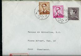 Doc. De LOBBES - A A - Du 26/01/70 En Rec. - Marcophilie