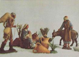 POSTAL B4652: POSTAL NAVIDEÑA FIGURAS DE BELEN. NACIMIENTO - Cartes Postales