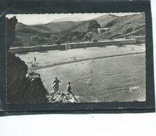 """66-BANYULS-sur-MER-Une Vue Animée De La """"VILLA LES ELMES """" Et La PLAGE- - Banyuls Sur Mer"""