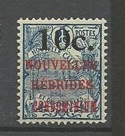 NOUVELLES-HEBRIDES N° 59 NEUF*  TRACE DE CHARNIERE /  MH - Unused Stamps