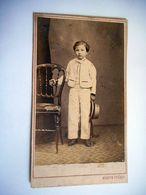 PHOTO CDV 19 EME JEUNE GARCON CHIC MODE   Cabinet MARTIN FRERES  A TOULOUSE - Foto's