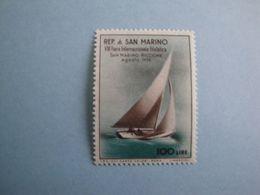Bateaux 1956 Saint Marin  Yv 423 ** MNH  Michel 557  Scott 385  SG  518   Ships Voilier - Saint-Marin