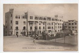 - CPA ALGIERS (Alger / Algérie) - Hôtel ST-GEORGE 1916 - Photo J. Geiser - - Algeri