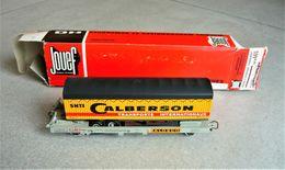 Wagon JOUEF - Wagon Et Remorque Calberson -  Kangourou - Ref M 665 - Occasion Avec Boite Origine - - Wagons Marchandises