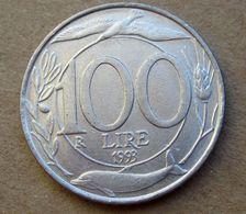 1993 ITALIA Lire 100 Turitta  - Circolata - 1946-… : Republic