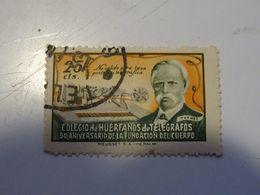 ESPAGNE  COLEGIO De HUERFANDS De TELEGRAFOS - Telegramas
