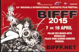 Calendrier FESTIVAL Du FILM FANTASTIQUE De BRUXELLES 2015 Par SERVAIS - Agendas & Calendriers