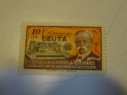 ESPAGNE  COLEGIO De HUERFANDS De TELEGRAFOS Avec Surcharge  CUETA - Telegramas