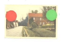 Photo Carte Colorisée - BEAUVECHAIN, Rue Du Broux  +/- 1945...50 (b278) - Beauvechain