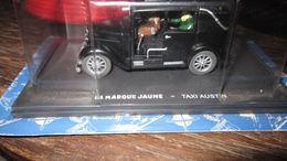 BLAKE ET MORTIMER VOITURE TAXI AUSTIN LA MARQUE JAUNE JACOBS - Blake Et Mortimer