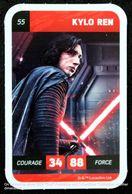 16 Cartes STAR WARS Trading Cards KYLO REN ANAKIN SKYWALKER HAN SOLO STORMTROOPER DARK VADOR JAWAS - Star Wars