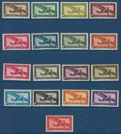 "Indochine Aerien YT 1 à 14 (PA) "" Avion En Vol "" 1933-38 Neuf* - Posta Aerea"
