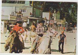 Oise :  FLEURINES : Centre  Attractif Jean  Richard , Vallée Des Peaux Rouges- Cow Boys 1973 - Autres Communes