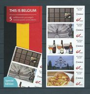 CARNET BOEKJES 5 X N° 1 World This Is Belgium NEUF MNH** TB COLLECTION - Booklets 1953-....