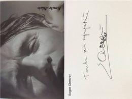 Emile ALLAIS - Signé / Dédicace Authentique / Autographe - Winter Sports