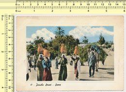 JERICHO Street Scene Jordan  Vintage Photo Postcard Rppc Pc - Jordanie